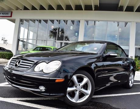 2005 Mercedes-Benz CLK for sale in Tampa, FL