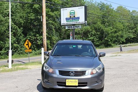 2008 Honda Accord for sale in Bow, NH