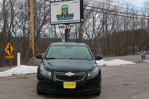 2014 Chevrolet Cruze for sale in Bow, NH