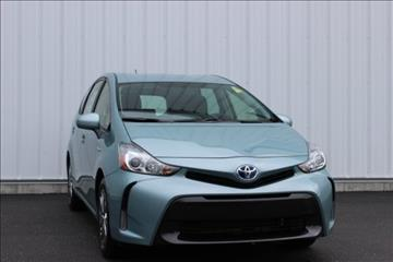 2017 Toyota Prius v for sale in Cheboygan, MI