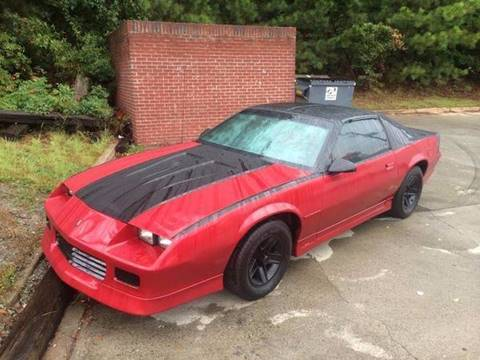 1985 Chevrolet Camaro for sale at Legacy Motor Sales in Norcross GA