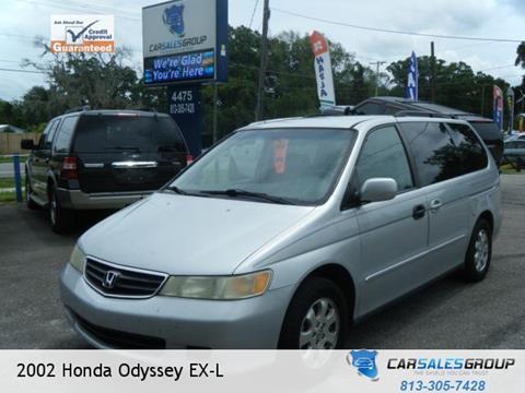 2002 Honda Odyssey for sale in Plant City FL