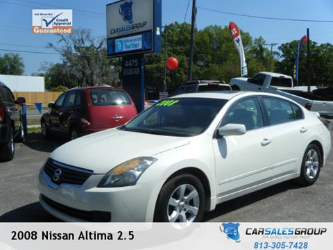 2008 Nissan Altima for sale in Plant City, FL