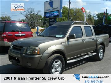 2001 Nissan Frontier for sale in Plant City, FL