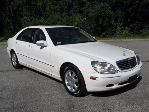 Used 2002 mercedes benz s class for sale in maryland for Mercedes benz 2002 s500 for sale
