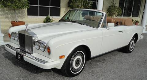 1989 Rolls-Royce Corniche for sale at Prestige Annapolis LLC in Pasadena MD