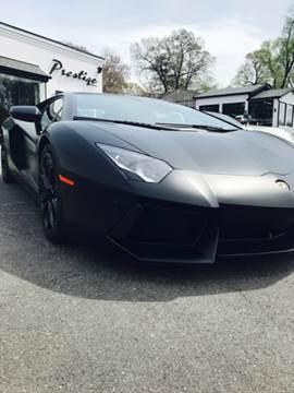 2012 Lamborghini Aventador for sale at Prestige Annapolis LLC in Pasadena MD
