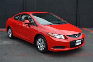 2012 Honda Civic for sale at Auto Showcase of White Marsh in White Marsh MD