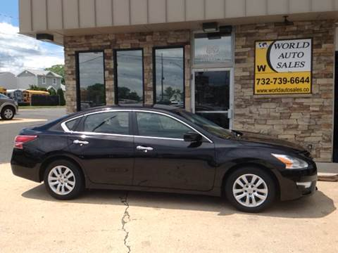 2013 Nissan Altima for sale at World Auto Sales Inc. in Keyport NJ