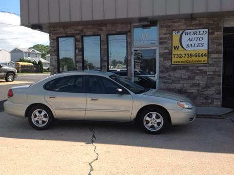 2006 Ford Taurus for sale at World Auto Sales Inc. in Keyport NJ