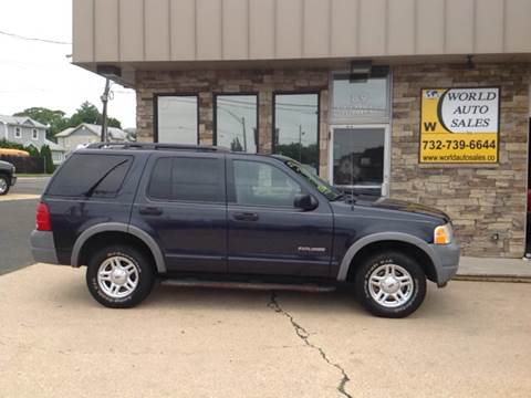 2002 Ford Explorer for sale at World Auto Sales Inc. in Keyport NJ