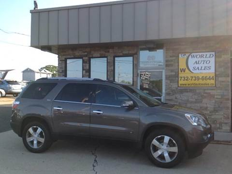 2010 GMC Acadia for sale at World Auto Sales Inc. in Keyport NJ