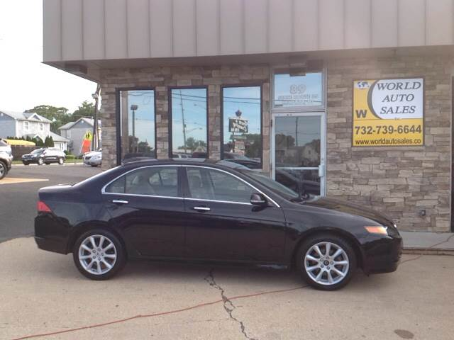 2008 Acura TSX for sale at World Auto Sales Inc. in Keyport NJ