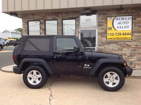 2009 Jeep Wrangler for sale at World Auto Sales Inc. in Keyport NJ