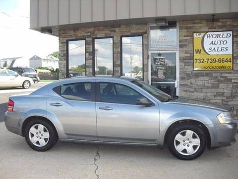 2009 Dodge Avenger for sale at World Auto Sales Inc. in Keyport NJ