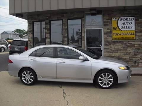 2007 Acura TSX for sale at World Auto Sales Inc. in Keyport NJ
