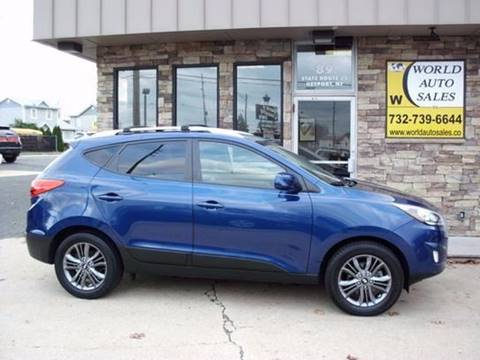 2014 Hyundai Tucson for sale at World Auto Sales Inc. in Keyport NJ