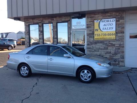 2003 Toyota Camry for sale at World Auto Sales Inc. in Keyport NJ