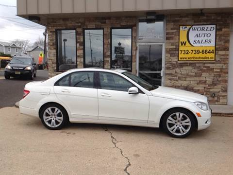 2011 Mercedes-Benz C-Class for sale at World Auto Sales Inc. in Keyport NJ