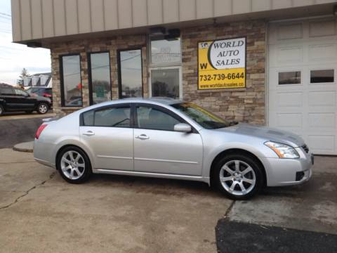 2008 Nissan Maxima for sale at World Auto Sales Inc. in Keyport NJ