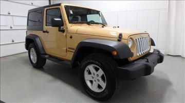 2013 Jeep Wrangler for sale in Frankfort, IL