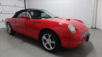 2002 Ford Thunderbird for sale in Frankfort, IL