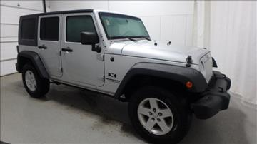 2008 Jeep Wrangler Unlimited for sale in Frankfort, IL