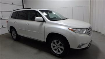 2012 Toyota Highlander for sale in Frankfort, IL