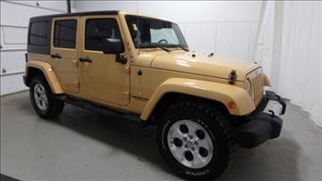 2013 Jeep Wrangler Unlimited for sale in Frankfort, IL