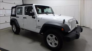 2015 Jeep Wrangler Unlimited for sale in Frankfort, IL