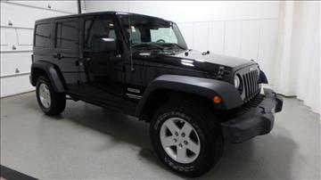 2011 Jeep Wrangler Unlimited for sale in Frankfort, IL