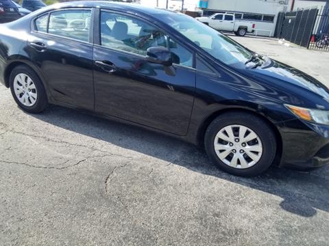 2012 Honda Civic for sale in Dallas, TX