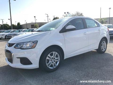 2017 Chevrolet Sonic for sale in Miami, FL