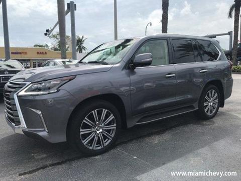 2017 Lexus LX 570 for sale in Miami, FL