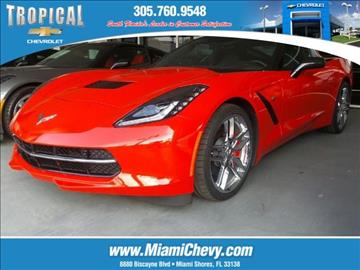 2016 Chevrolet Corvette for sale in Miami, FL