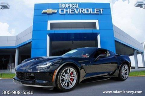 2017 Chevrolet Corvette for sale in Miami, FL