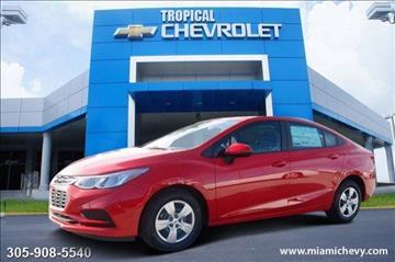 2017 Chevrolet Cruze for sale in Miami, FL