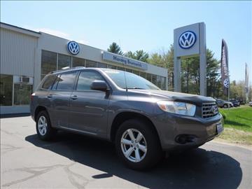 2008 Toyota Highlander for sale in Brunswick, ME