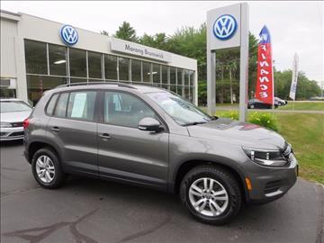 2016 Volkswagen Tiguan for sale in Brunswick, ME