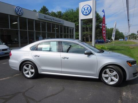 2015 Volkswagen Passat for sale in Brunswick, ME