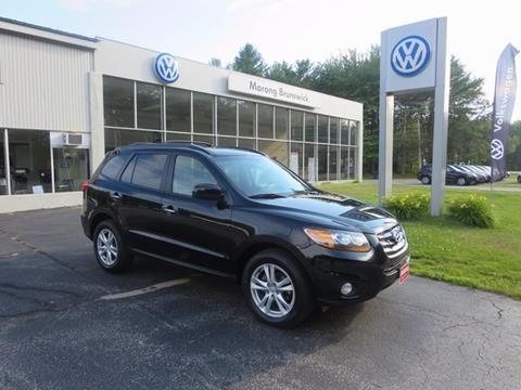 2011 Hyundai Santa Fe for sale in Brunswick, ME
