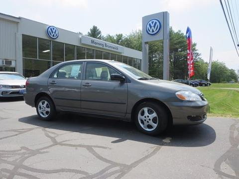 2007 Toyota Corolla for sale in Brunswick, ME