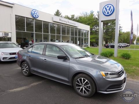 2016 Volkswagen Jetta for sale in Brunswick, ME