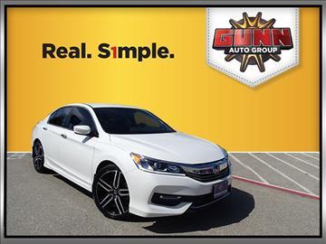 2016 Honda Accord for sale in San Antonio, TX