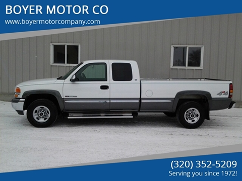 2000 GMC Sierra 2500 for sale in Sauk Centre, MN