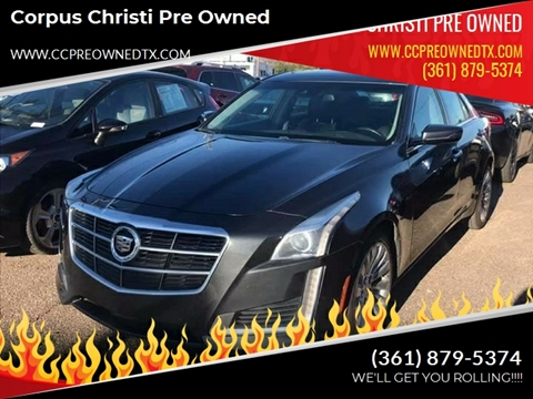 2014 Cadillac CTS for sale at Corpus Christi Pre Owned in Corpus Christi TX