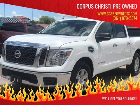 2017 Nissan Titan for sale at Corpus Christi Pre Owned in Corpus Christi TX