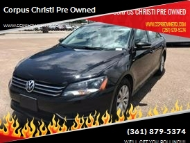 2015 Volkswagen Passat for sale at Corpus Christi Pre Owned in Corpus Christi TX