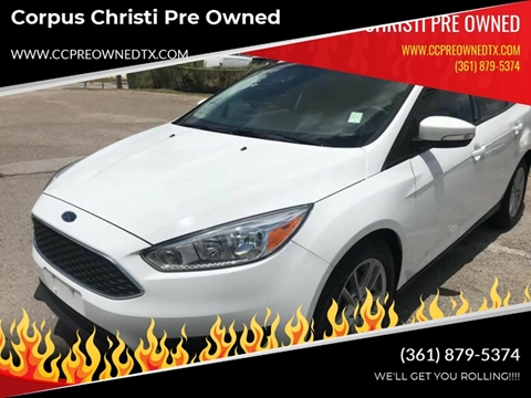 2017 Ford Focus for sale at Corpus Christi Pre Owned in Corpus Christi TX