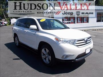 2013 Toyota Highlander for sale at Hudson Valley Auto Exchange in Newburgh NY